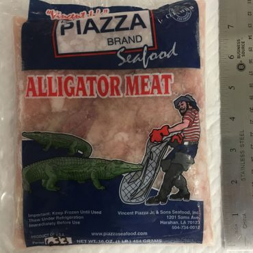 Alligator Meat