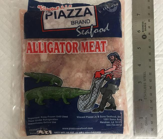 Alligator White Meat