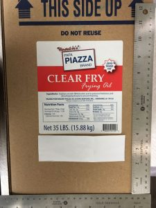 gallery, Clear Fry Frying Oil