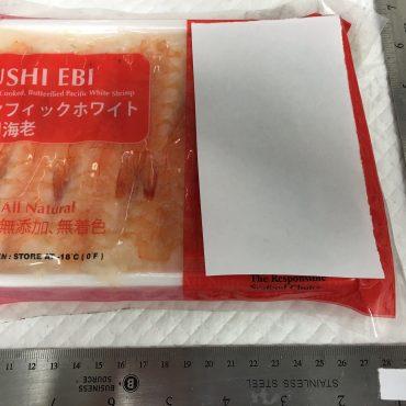 Sushi Ebi - Farmed, Cooked, Butterflied White Shrimp