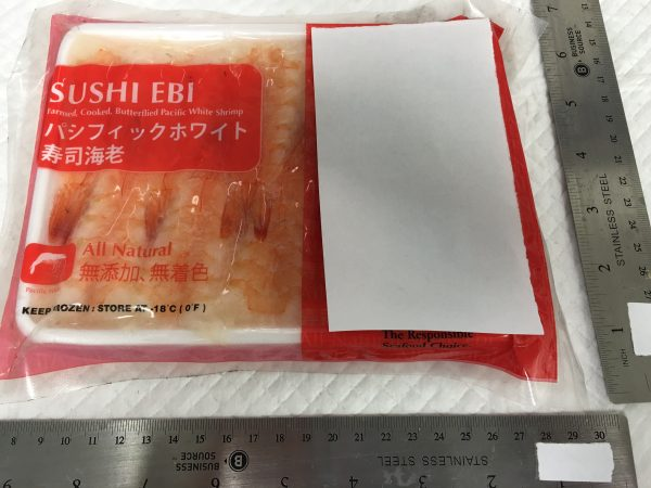 Sushi Ebi - Farmed, Cooked, Butterflied White Shrimp