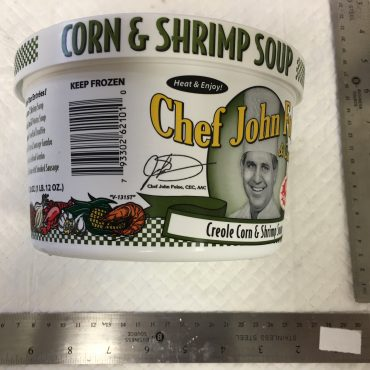 Soup - Corn and Shrimp